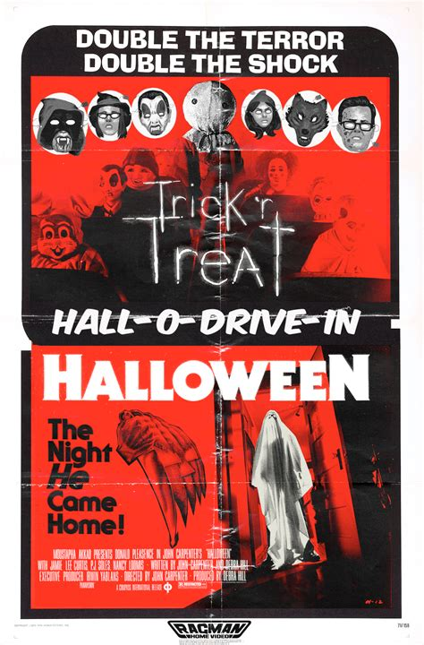 The Horrors of Halloween: Halloween Double Feature Posters