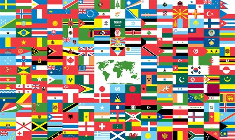 country flags - Map Pictures