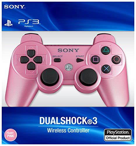 PlayStation 3 Dualshock 3 Wireless Controller (Candy Pink