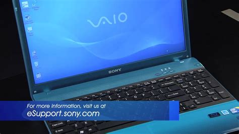 Sony VAIO® - How to disable or enable the scrolling