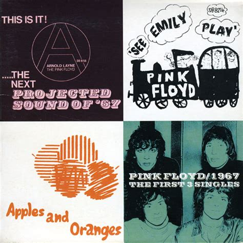 The First Three Singles | Pink Floyd | Discography | Pink
