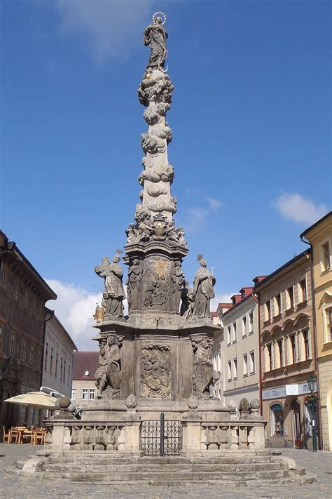 Column of the Virgin Mary Immaculate in Kutná Hora - Wikidata