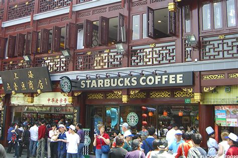 Photos: Starbucks (SBUX) in China Is Almost Unrecognizable