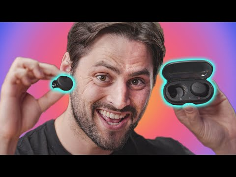 First Look! NEW 'Truly Wireless' WF-1000X headphones - YouTube