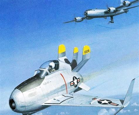 The Historic Heap: McDonnell XF-85 Goblin Parasite Fighter