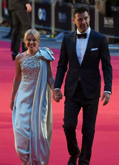 Kylie Minogue looks totally loved-up with boyfriend Paul