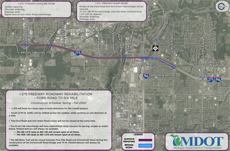 MDOT plans $50M repair project for I-275 in 2020