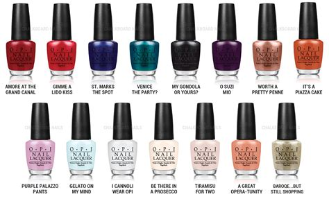 Chalkboard Nails News: OPI Venice Collection for Fall