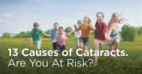 Types of cataracts, cataract symptoms, what causes cataracts