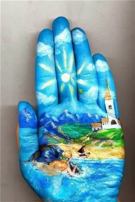 The Most Beautiful Hand Art You've Ever Seen!