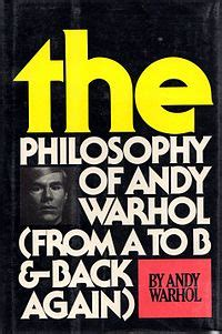The Philosophy of Andy Warhol - Wikipedia